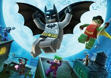 Lego Batman & Robin A3 Promo Poster G266