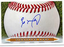 Eloy Jimenez Signature Card AUTO signed 2013 Cubs RARE Early Signature!