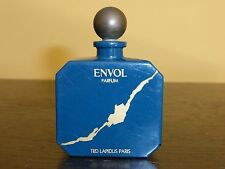 "VINTAGE TED LAPIDUS ENVOL Perfume Bottle with Glass Stopper - 2 3/4"" Tall"