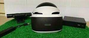 PS4 VR Headset & Camera Version 2 With PS5 Adaptor - Playstation 4 - CUH-ZVR2 V2