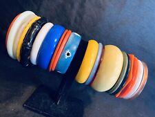 Costume Jewelry Lot Bracelet Vintage Plastic Bangles