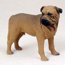 Bullmastiff Dog Figurine Statue Hand Painted Resin Gift Pet Lovers