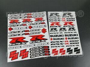 GSX-R1000 Motorrad Aufkleber stickers set für Suzuki gsxr 1000 Laminiert Rot