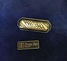 Genuine Pierre Bex Enameled Art Deco Brooch   #003