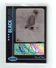 ADAM LAROCHE 2007 BOWMANS BEST AUTOGRAPHED 1/1 AUTO TOPPS 1 OF 1 PLATE TOPPS