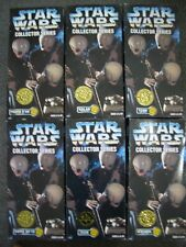 "STAR WARS ULTRA RARE WALMART STORE EXCLUSIVE 12"" CANTINA BAND MEMBER SET OF 6."