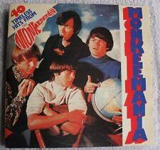 The Monkees Peter Tork Dolenz Monkeemania 60s Pop Rock 33rpm Vinyl 2LP Records