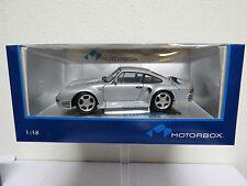 """Porsche 959 1:18 """"zilver"""" Motorbox """"Exoto"""""""