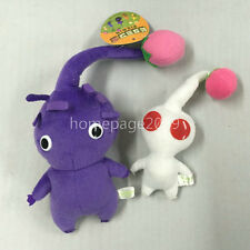 set of 2 Game Plush Pikmin Plush Purple/White Buds Stuffed plush Dolls