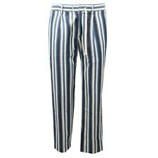 0951AE pantalone uomo PAOLO PECORA cotton/linen trouser pant men