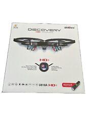UDI RC U818A Discovery R/C Drone w/ Camera - 720p Quadcopter Camera Drone HD+