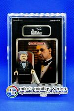 The Godfather Custom Carded Minifigure Display Mini-Figure DON VITO CORLEONE