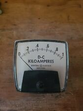 General Electric D C Kiloamperes Panel Metersee Photos For Size