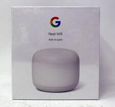 New Sealed Google Nest Wi-Fi Mesh Add-On Wireless Access Point #GA00667-US Snow