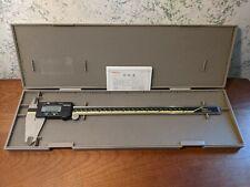 Mitutoyo 12 Inch Digital Caliper No 500 193 Cd 12 Cp With Case