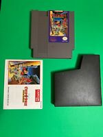 🔥 NINTENDO NES CAPCOM Chip & Dale Rescue Rangers - 💯 Working Game Complete