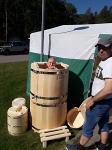 mini sauna Cedar phyto-barrels