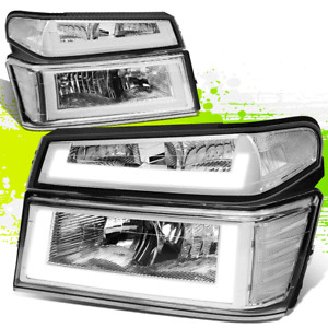 FOR 04-12 COLORADO CANYON PAIR LED DRL HEADLIGHT BUMPER LAMP 05 06 07 08 09 10