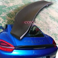 Painted duckbill GT4 type trunk spoiler for 14~16 Porsche 981 Cayman S GTS ◎