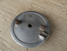 BSA C15 250CC SS80 FRONT BRAKE PLATE, COMPLETE 17