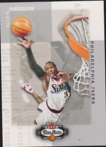 2002-03 fleer box score Allen Iverson # 3