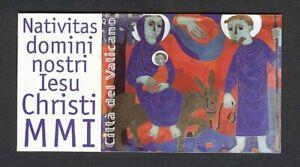 Vatican City #MiMH9 MNH Booklet CV€9.00 2002 Christmas Nativity [1202a]