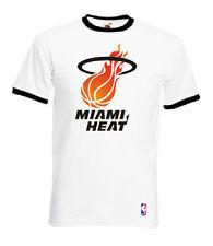 T-SHIRT MAGLIA NBA BASKET MIAMI HEAT CULT VINTAGE IDEA REGALO