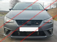 SEAT IBIZA 6F FRONT BUMPER SPOILER / FRONT LIP / SKIRT / VALANCE ( from 2017 )