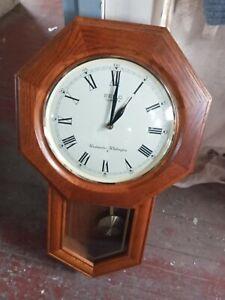 """Seiko Quartz Westminster Whittingham Wall Clock 21"""""""