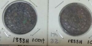 British North Borneo 1888 Cent
