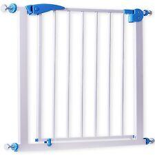 KIDIZ® Türschutzgitter Absperrgitter Gitter Treppengitter Kindergitter 74-87 cm