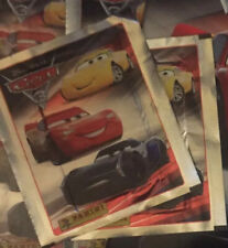 cromos-sticker x2 Panini-Cars 3
