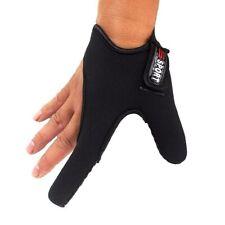 Casting Single-finger Fishing Glove Anti-Slip Shield for Braided Line Black