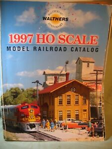 WALTHERS HO RAILROAD CATALOG 1997, 896 PAGES,  USED