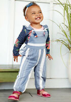 baby Matilda Jane Gaines These are the days Had a Farm Overall size 12-18 NWT