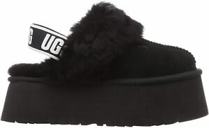 UGG Women's Funkette 1113474 Black Size 6-10 NEW