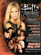 BUFFY THE VAMPIRE SLAYER CONNECTIONS PROMOTIONAL SELL SHEET