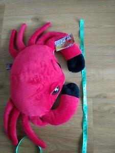 My Zu Seafriends Calvin Crab Soft Toy Brand New