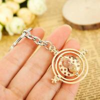 Harry Potter Hermione Granger Rotating Time Turner Hourglass Necklace Pendant