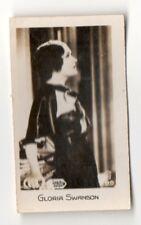 Gloria Swanson 1932 Bridgewater 1st Series Film Star Card #89