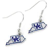KENTUCKY - STATE DESIGN LOGO - DANGLE EARRINGS - BRAND NEW NCAA - CCP-ER-469-15