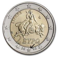 GRECE - Monnaie 2 euro grecque 2002 avec S dans l'étoile QUALITÉ NEUF /Finlande