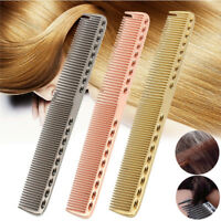 Männer Frauen Aluminium Metall schneiden Kamm Haar Friseur & Barber Salon Kämme