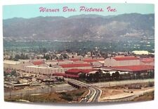 Vtg 1940-1950's Hollywood CALIFORNIA Warner Brothers Pictures Studios POSTCARD