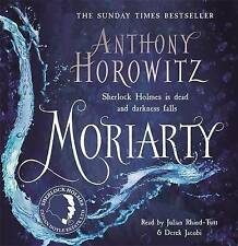 Moriarty by Anthony Horowitz (CD-Audio, 2014) 9 CD AUDIO BOOK NEW UNPLAYED