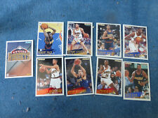 ancien cartes panini NBA basket Denver Nuggets 94 95 collection