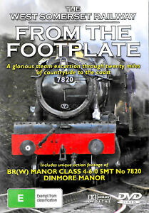 Trains From The Footplate West Somerset -Educational DVD Series New Region ALL