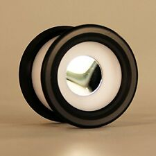 yoyo Zeekio Zenith Yo-Yo with Mirror Center - White and Black