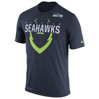95639c0d364f NWT Nike Stadium Dri Fit Touch Pull Over Hoodie SEATTLE SEAHAWKS Sz ...