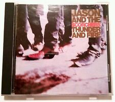 RARE - JASON AND THE SCORCHERS THUNDER AND FIRE MUSIC CD 1989 A&M RECORDS